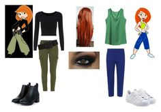 """""""Kim Possible"""" by themortalinstrumentslover ❤ liked on Polyvore featuring Mother, Alexander McQueen, adidas Originals, women's clothing, women, female, woman, misses and juniors"""