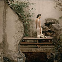 Sun Jun - Photography of New Literati painting - Timeless Memories Asian Style, Chinese Style, Chinese Art, Traditional Chinese, Modern Photography, Fashion Photography, Wedding Photography, Oriental Fashion, Chinese Culture