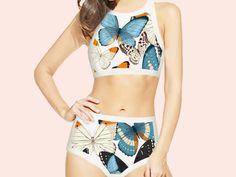 Hey, I found this really awesome Etsy listing at https://www.etsy.com/listing/495594908/bikini-high-waisted-white-bikini-high