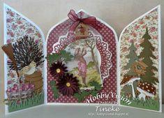 Marianne Design, Triptych, Xmas Cards, Art Journals, Box, Advent Calendar, Stamp, Create, Holiday Decor