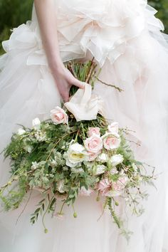 Wild roses | Photography: Alea Lovely - alealovely.com  Read More: http://www.stylemepretty.com/destination-weddings/2015/04/20/fashion-inspired-hong-kong-elopement-inspiration/