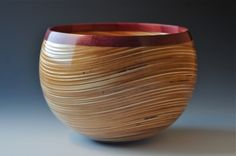 """Beauty"" by John Beaver. Birch Plywood and Purpleheart - one of my favorite combos!"