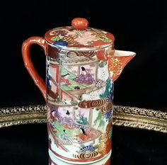 Signed Chinese Antique Porcelain Pottery Tea by OldGLoriEstateSale, $98.00