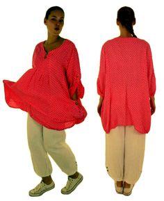 HF100KO46 Damen Tunika Bluse Leinen von MeinDesignLagenlook auf Etsy