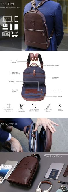 The world's most functional leather backpack! Messenger, backpack, and duffle configurations – the perfect bag for every lifestyle. - buy a bag, bag accessories, womens large bags *sponsored https://www.pinterest.com/bags_bag/ https://www.pinterest.com/explore/bags/ https://www.pinterest.com/bags_bag/drawstring-bag/ http://www.nfl.com/qs/allclear/index.jsp