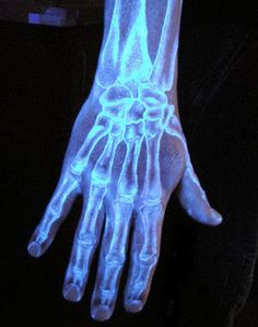 Weird News - Black Light & Glow In The Dark Tattoos...I would LOVE THIS, but it is anatomically INCORRECT.