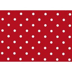 Fablon Sticky Back Plastic Polka Dot Red