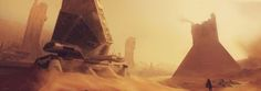 sciencefictionworld: Ghosts of the Desert by Christo Crafford....