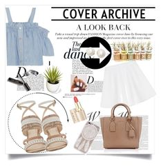 """""""→SPRING"""" by gaellerached on Polyvore featuring Anja, Steve J & Yoni P, Nine West, RED Valentino, Bobbi Brown Cosmetics, Michael Kors and Kate Spade"""