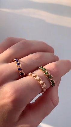 Diy Wire Jewelry Rings, Diy Jewelry Unique, Wire Jewelry Designs, Handmade Wire Jewelry, Diy Crafts Jewelry, Bracelet Crafts, Handmade Bracelets, Beaded Jewelry, Make Jewelry