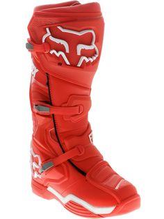 Fox Red Comp 8 MX Boot | Fox | FreestyleXtreme