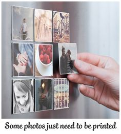 Some photos just need to be printed! Use the Sticky9 App to turn your favourite photos into dazzling Magnets. Brighten up your fridge. Download our App now.