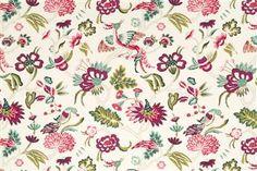 Darling Flora - Robert Allen Fabrics Beet