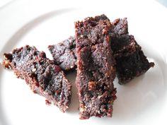 Eat Wheat-Free, Dairy-Free, & Low Sugar » Gluten-Free, Dairy-Free, No Sugar   RAW Brownies