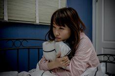 画像の女性不眠症 stock photo
