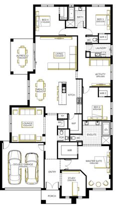 Home Designs & House Plans, Melbourne | Carlisle Homes. Radison