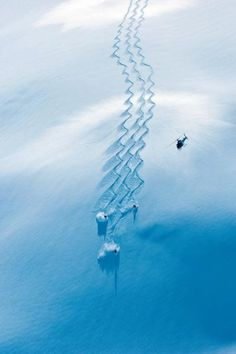Perfect tracks!  #snowboarding #ski #snow