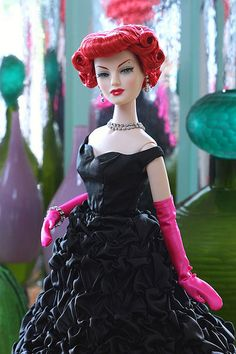 Gorgeousness is Liquorice Crush Madra Lord by Mel Odom and produced by Integrity Toys.