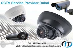 #CCTV has the ability to drastically reduce the chances of a crime occurring on a property Call : 971526420202 Visit : http://wifinetworkitsupportcomputerindubai.com/. We provide our CCTV #installation,setup,#repair, fixing #services to those who live in a residential property or work at a #business property in #dubai. We will ensure you of the best possible #rates in Dubai,UAE.