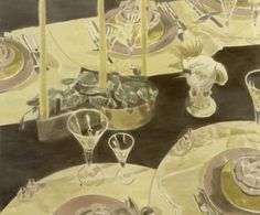 Luc Tuymans The Perfect Table Setting 2005 Art