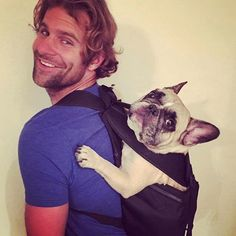 Ruffit Dog Carrier - A backpack for carrying your dog . (Dogs, Backpacks, and Tech)