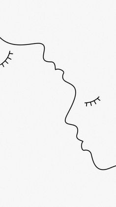 you and me! Minimal Drawings, Art Drawings Sketches, Easy Drawings, Cute Wallpapers, Wallpaper Backgrounds, Iphone Wallpaper, Minimalist Art, Doodle Art, Art Inspo