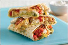 Chili's Chicken Club Quesadillas: 1,360 calories vs THIS recipe for 309 calories