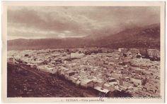 Tetuán (Protectorado español en Marruecos): Vista panorámica. L. Roisin, fot. No circulada (Años 30) - Foto 1