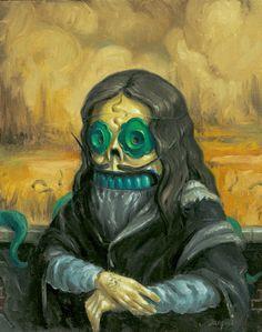 Cala de Lisa [Jonathan Bergeron A.K.A. Johnny Crap] (Gioconda / Mona Lisa)