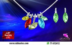 Valentine's Offer On New Collection Water Droplets Set Swarovski Elements White Gold Plated 18K Necklace & Earrings for 12$ Instead Of 45$ http://rabiantos.com/product/water-droplets-set-swarovski-elements/