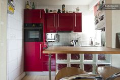 Vacation Rentals, Homes, Experiences & Places - Airbnb Studio Flat London, Air Bnb, Flat Ideas, West London, Sweet Home, Kitchen Cabinets, Places, Furniture, Home Decor