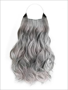 Grey Curly Hair, Curly Hair Styles, Natural Hair Styles, Gray Hair, Pretty Hairstyles, Wig Hairstyles, Men's Haircuts, Grey Hair Extensions, Grown Out Pixie