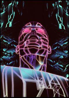 Creative Retro, Kilian, Eng, Dw, and Design image ideas & inspiration on Designspiration New Retro Wave, Retro Waves, Retro Kunst, Retro Art, Coven, Kilian Eng, Art Science Fiction, Sci Fi Kunst, 80s Neon