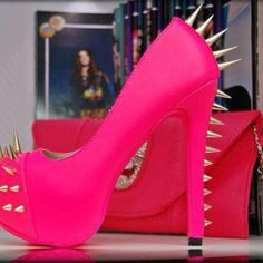 Pink spikes
