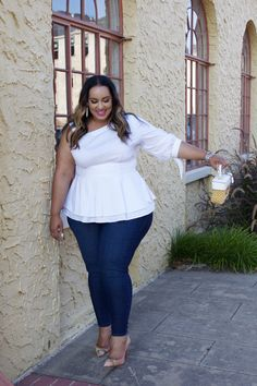 26 Stylish Plus-Size Spring Outfit for Work That Won't Fail You Outfits Plus Size, Curvy Outfits, Plus Size Dresses, Plus Zise, Mode Plus, Curvy Girl Fashion, Look Fashion, Womens Fashion, Fashion Ideas