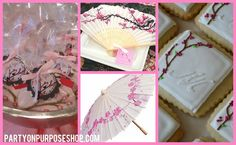 Cherry Blossom Party Ideas: Favor and Activity Ideas
