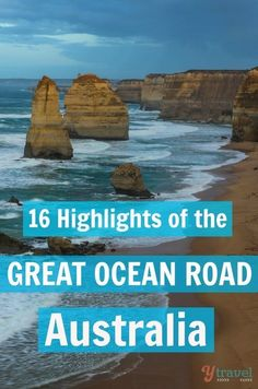 Is the Great Ocean Road in Australia on your travel bucket list? Check out these 16 highlights, plus tips on where to stay and renting a car.