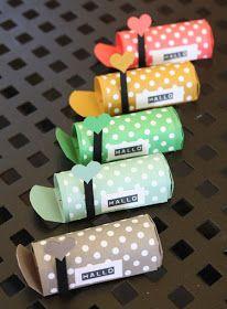 Zauberhaft-handgemacht: Mini-Postbox mit bebilderter Anleitung(Diy Geschenke Verpacken)