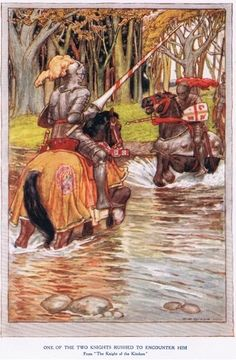 Arthur A. Dixon - The Knight of the Kitchen - King Arthur and the Knights of the Round Table by Doris Ashley - 1921