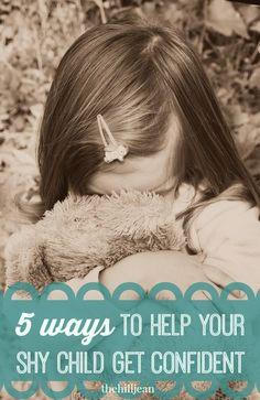 5 Ways to Help Your Shy Kid Get Confident