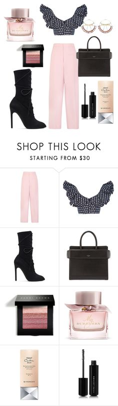 """My look of the day"" by doratemplam ❤ liked on Polyvore featuring Joseph, Johanna Ortiz, adidas Originals, Givenchy, Bobbi Brown Cosmetics, Burberry, Marc Jacobs, Scosha, casual and casualoutfit"