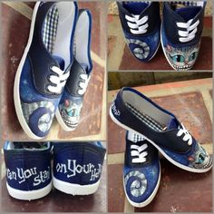 Cheshire cat - TinTon's Handpainted Shoes -  Visit us  @ https://facebook.com/tintonsshoes Http://i.instagram.com/tintonsshoes/ For more shoe designs :D - Handpainted . Personalized . Customized Shoes - By: Tin & Ton