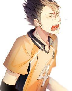 Nishinoya Yuu: Karasuno's Guardian Deity (Haikyuu!!) NOW WHO MADE HIM CRY?!?!