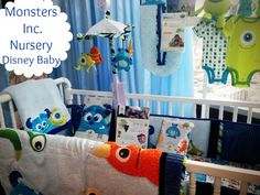 Disney Baby Monsters Inc. Nursery Bedding and Theme #MonstersUEvent