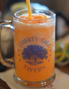 Patriots Punch Recipe served at Liberty Tree Tavern in Magic Kingdom at Disney World