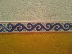 Resultado de imagen para cenefa mexicana