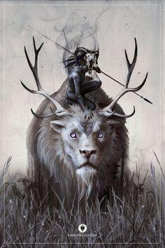 A Boy and his Beast by EranFolio on DeviantArt