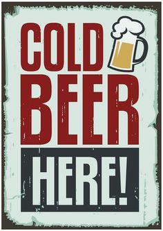 Tôle plaque 20x30 cm Oktoberfest Bière Bar pub restaurant deco métal poster