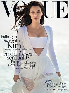 KELLIE STRATTON for Vogue Australia : Kim Kardashian