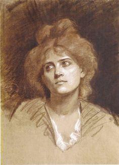"Marie Bashkirtseff, ""Portrait de femme"""